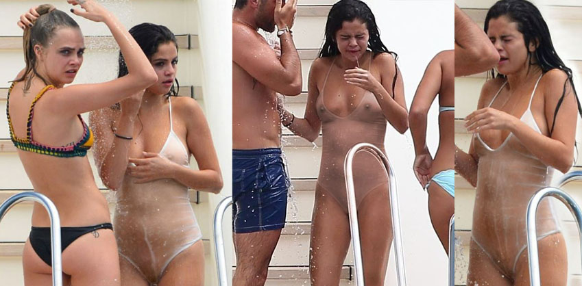 Selena Gomez: Teen tits and pussy exposed