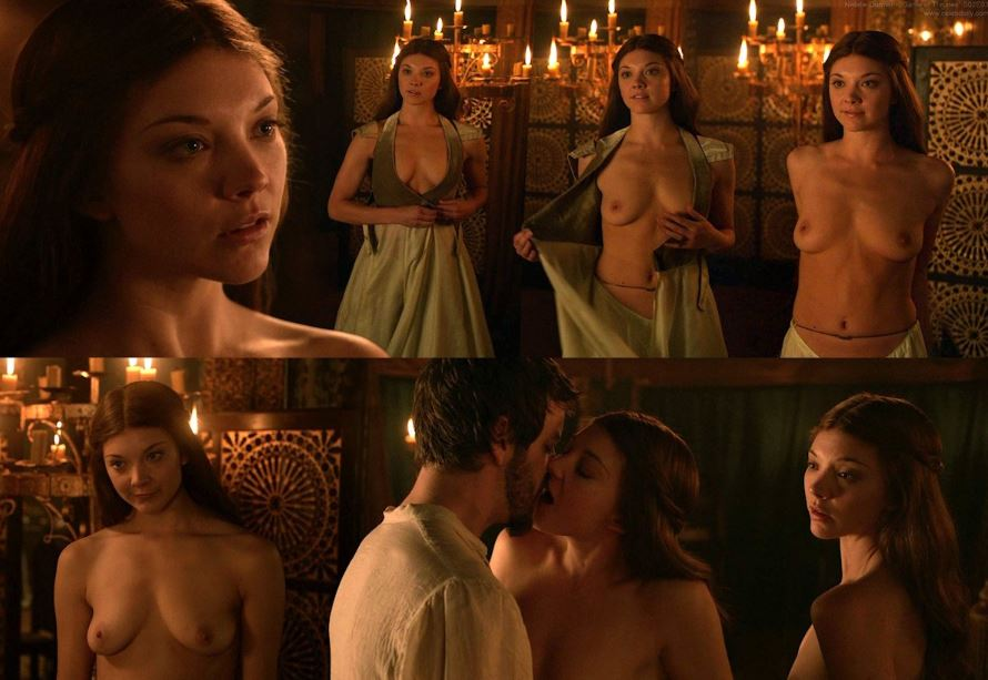 6 Hot times Natalie Dormer stripped nude on camera