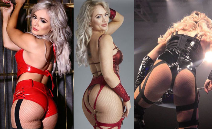 TNA diva Scarlett Bordeaux has the best big ass in the whole wrestling business