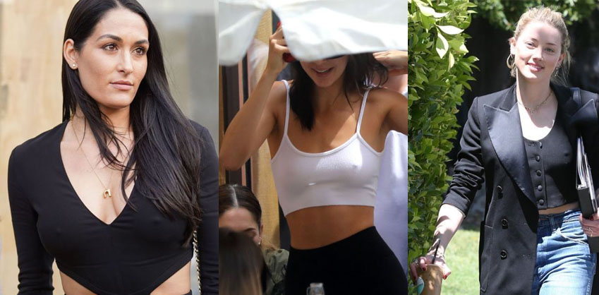 Braless Celebs of the week #4