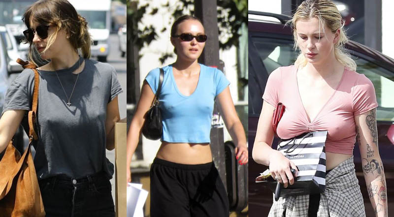 This week's Braless Celebrities #6