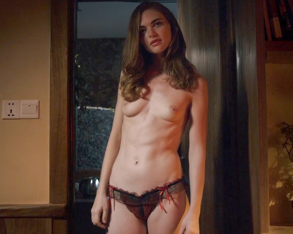 Actress Jenny Boyd first time nude (topless) in Hex