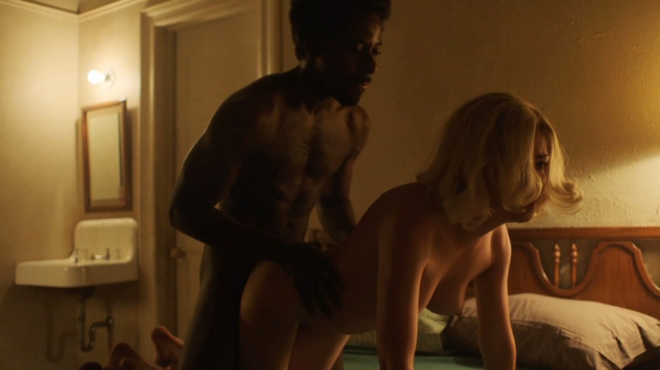 Emily Meade nude in The Deuce sex scenes