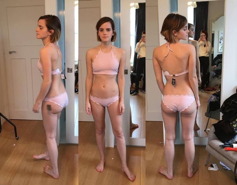 Emma Watson posing in underwear, swimsuits and bikini's (ultra sexy stolen photos)