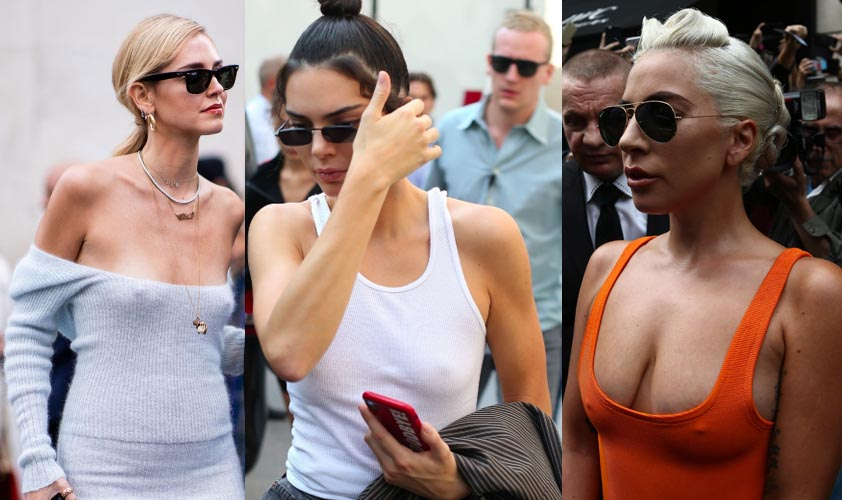 This week's braless celebrities #2