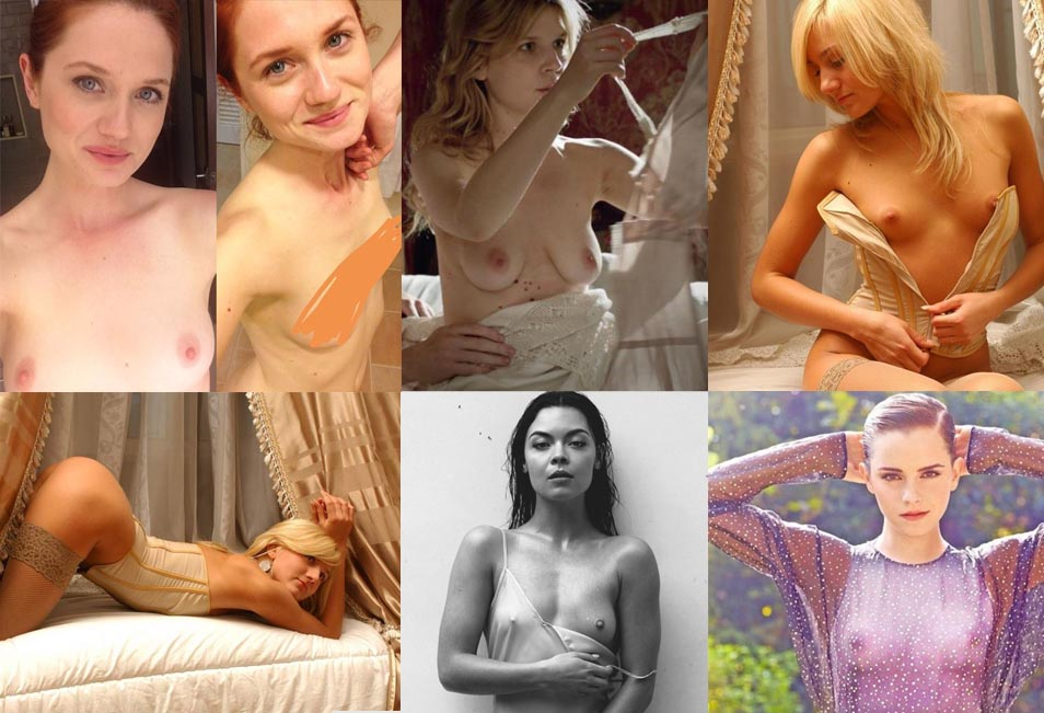 6 Harry Potter stars nude!