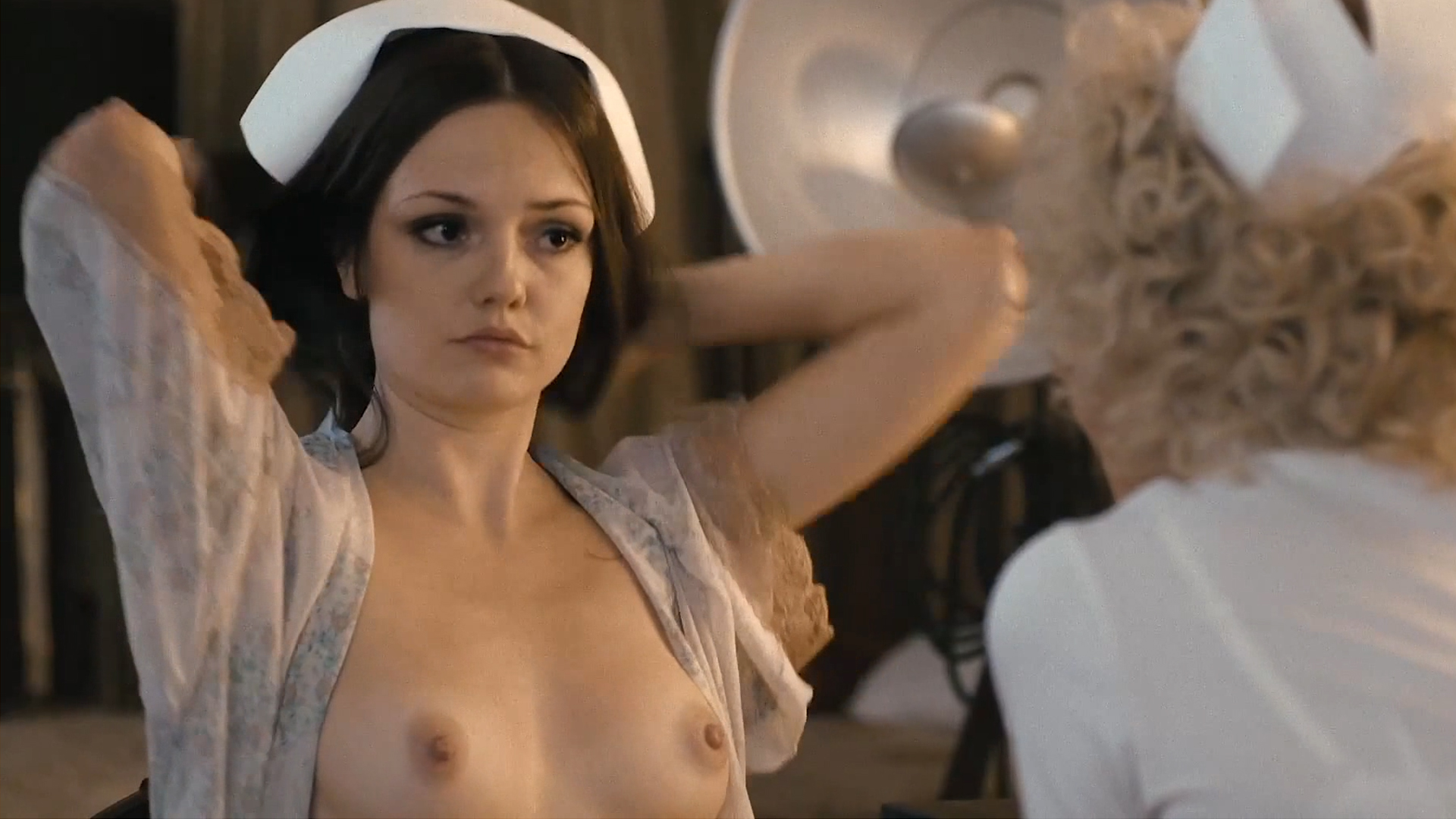 "The hot nude tits of actress Emily Meade ""The Deuce"" TV show (season 1 & 2)"
